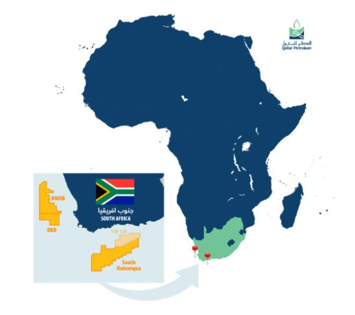 SOUTH AFRICA: Qatar Petroleum Enters into 3 Offshore Exploration Blocks with TotalEnergies