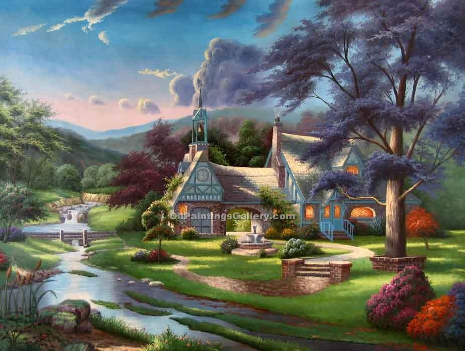 """""""House by the Creek 40"""""""