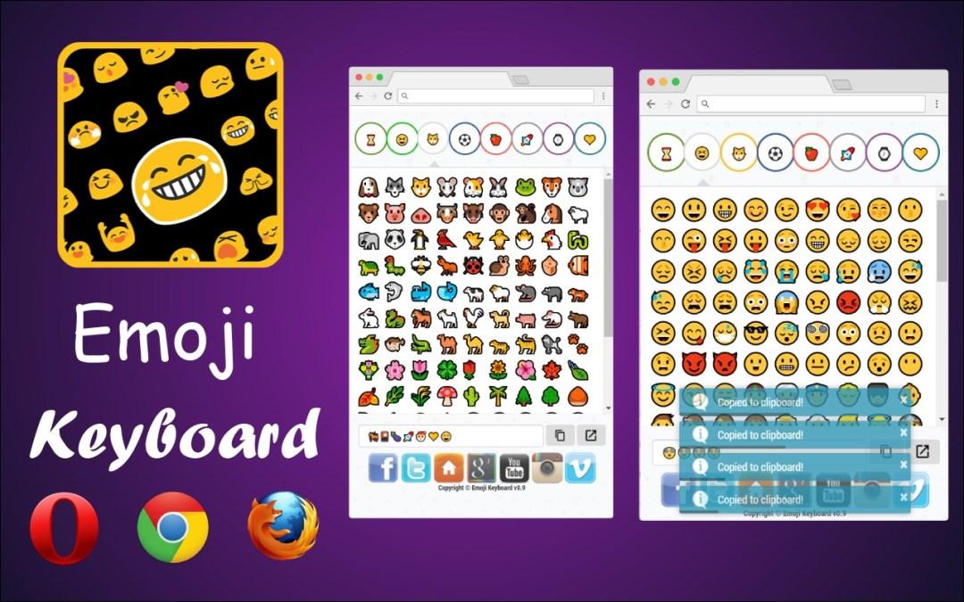 emoji keyboard design