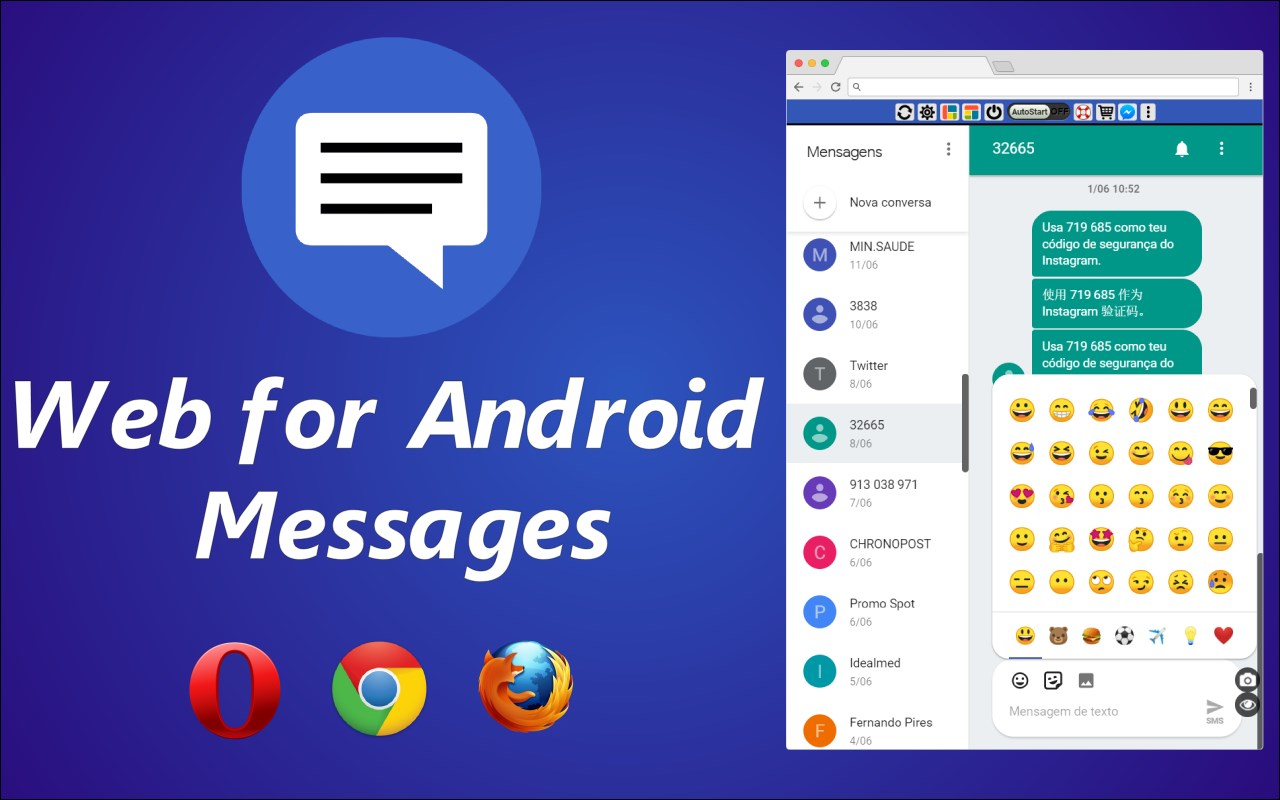 Web for Android Messages | OinkAndStuff
