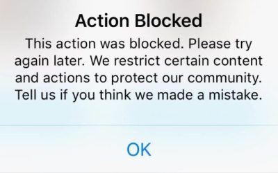 How to Fix Instagram Action Blocked 2019 😱✅😅