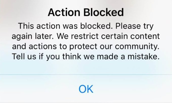 How to Fix Instagram Action Blocked 2020 😱✅😅