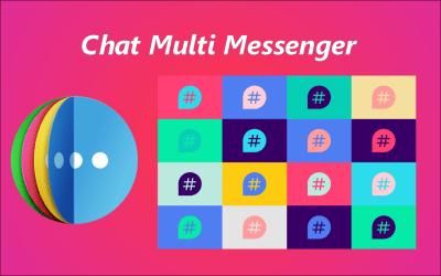 New App 💣Chat Multi Messenger 😍😱