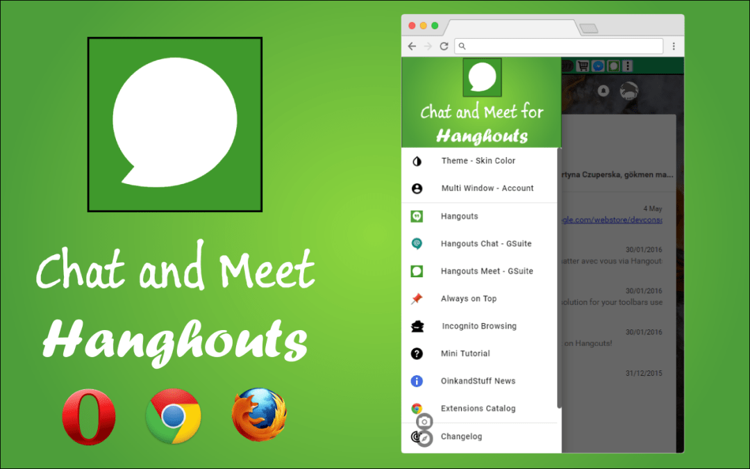 Chat and Meet for Hangouts – Chrome extension for Home and G Suite users 🎓💼