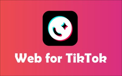 New extension: Web for TikTok 🎶😍