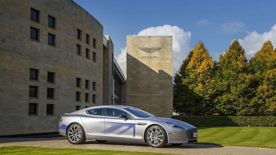 Aston Martin eléctrico película James Bond