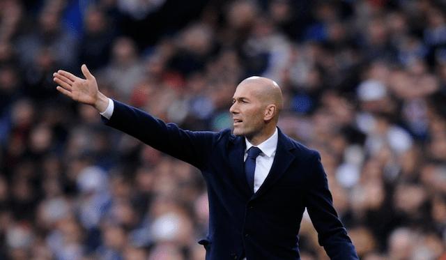 Zidane lider