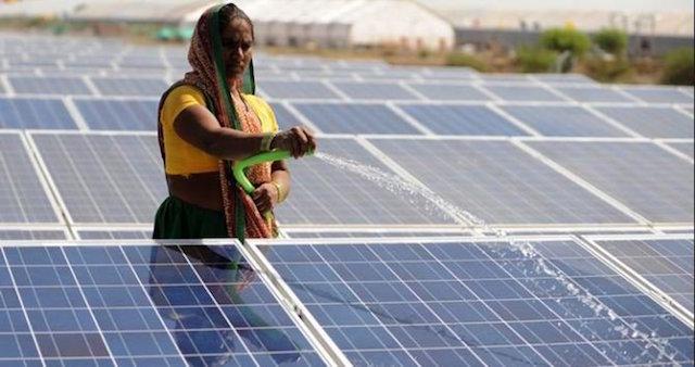 India energía limpia