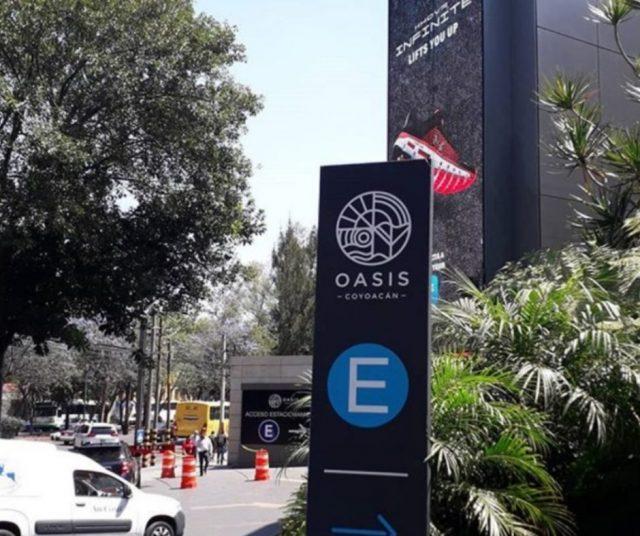 Plaza Oasis (Imagen: Instagram juliantina_internacional