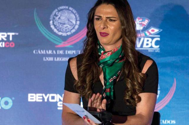 Ana Guevara pide apoyo extra para la Conade