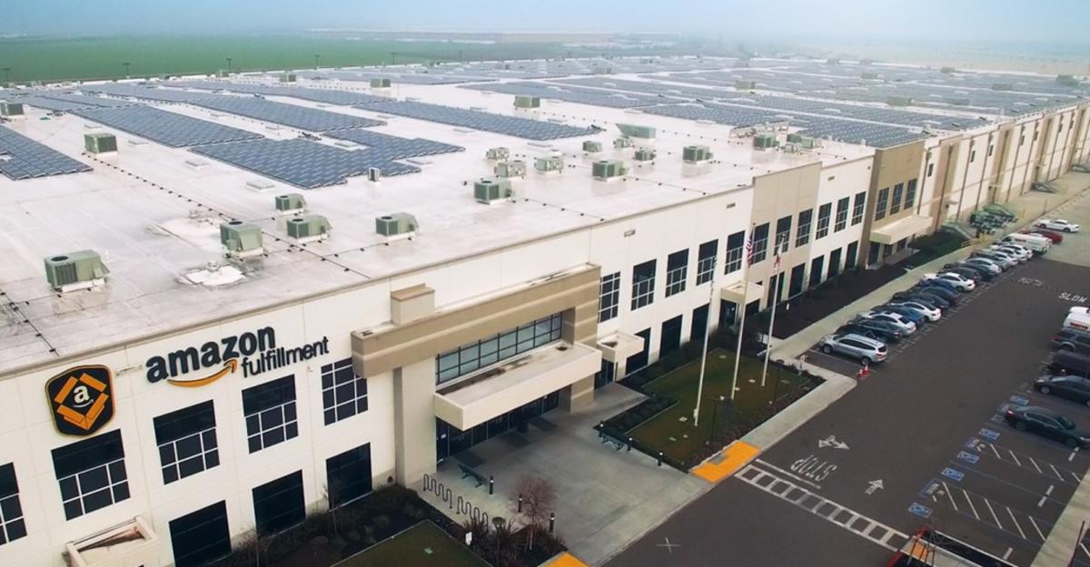 Centro de distribución de Amazon en México