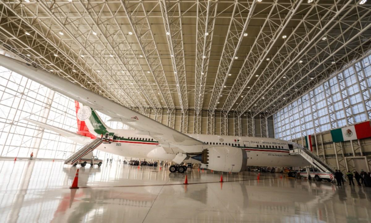 Compra venta del avión presidencial