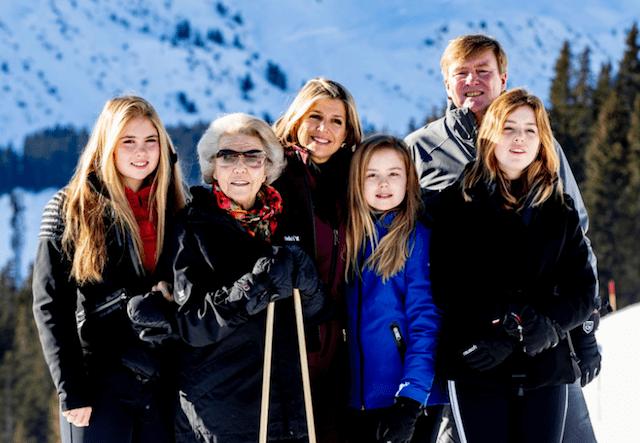 Familias reales Holanda