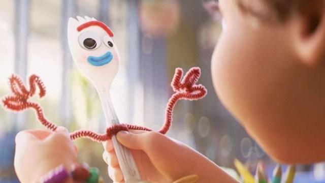 Forky el nuevo personaje de Toys Story