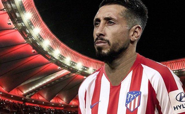 Hector Herrera gratis Atletico Madrid