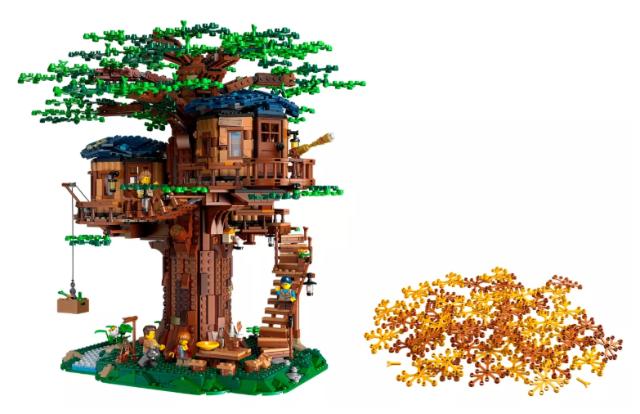La Casa del árbol Lego