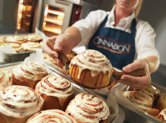 invierte en franquicia Cinnabon