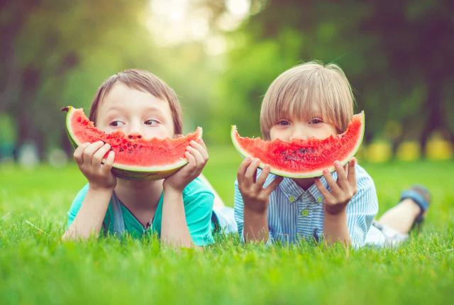 Alimentación actual de niños