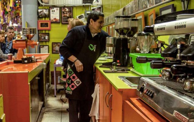 El negocio de la cafetería