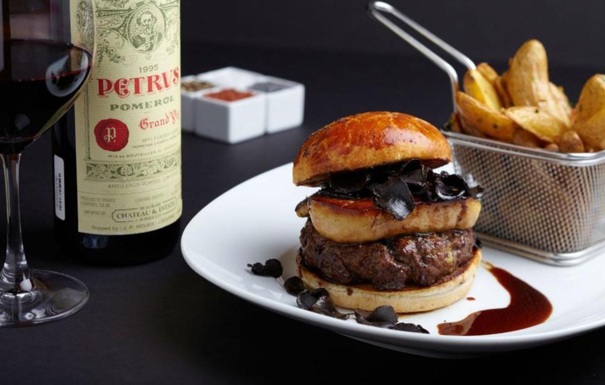 Esta es la hamburguesa más cara del mundo