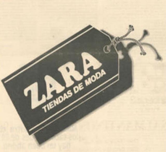 Origen de la tienda Zara