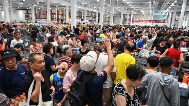 Se desata el caos por la primera tienda Costco en China