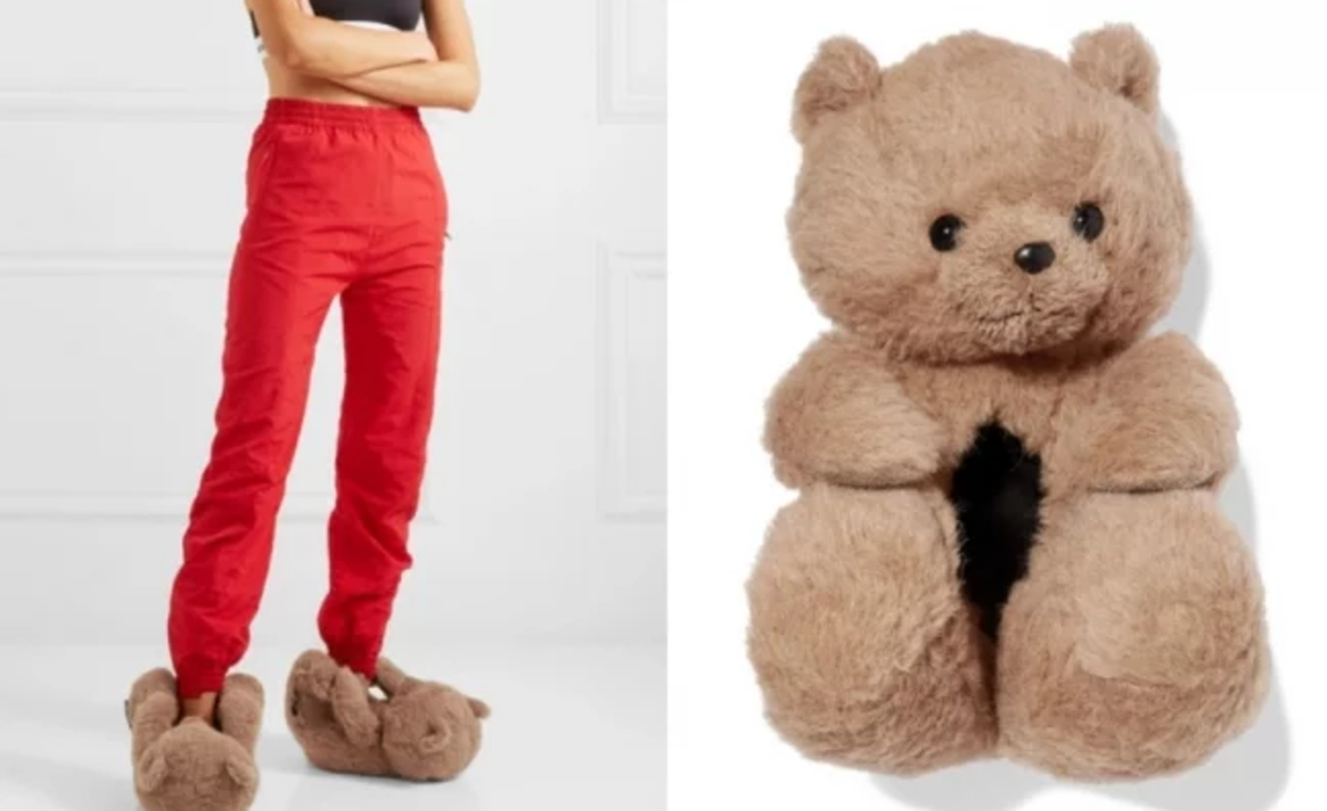 Zapatos de osos de peluche Vetements