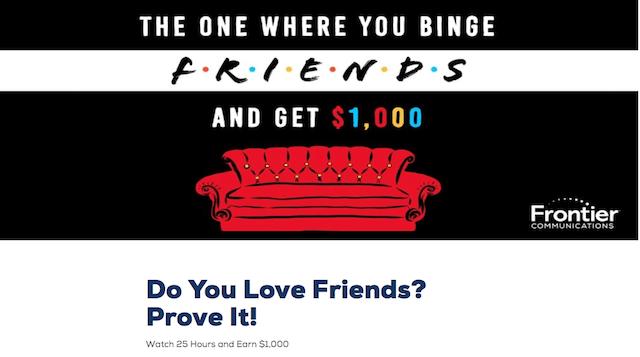 empresa paga ver Friends
