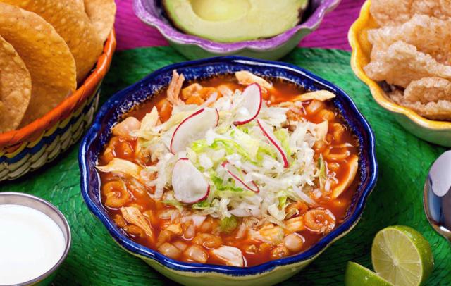 Comida típica mexicana