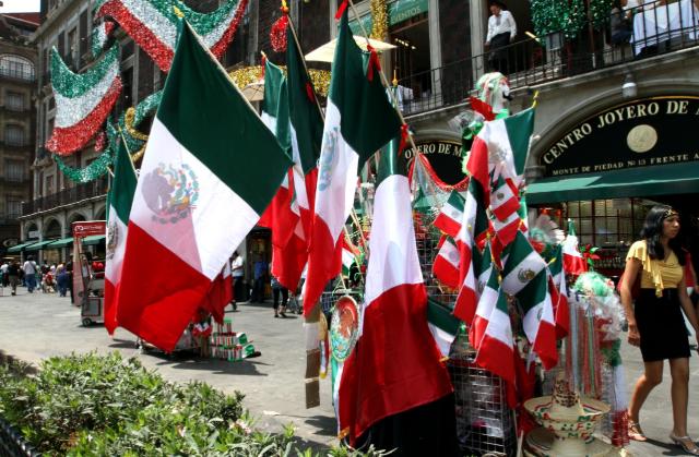 Fiestas patrias en México