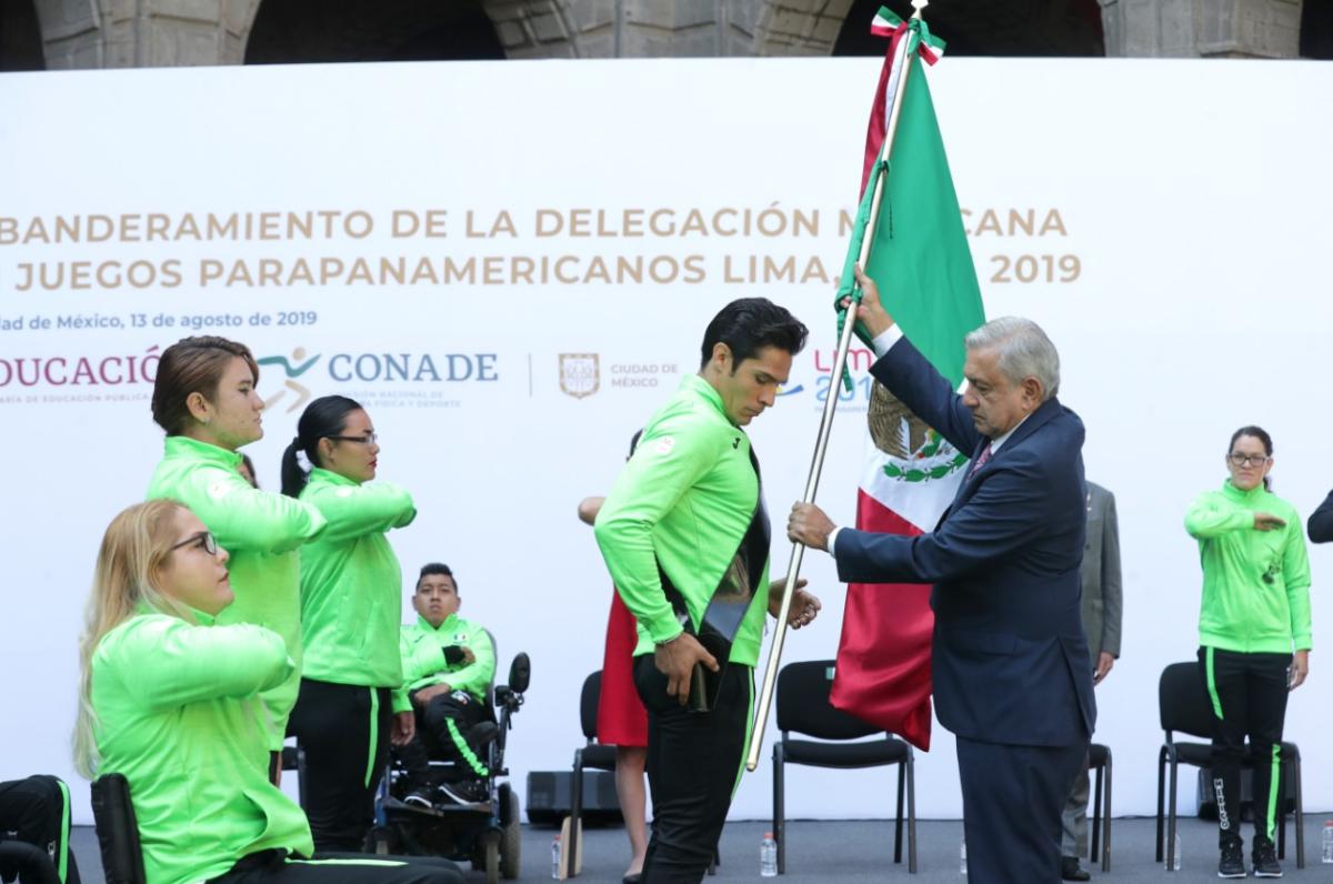 Gobierno Federal le debe a los atletas de los Juegos Parapanamericanos