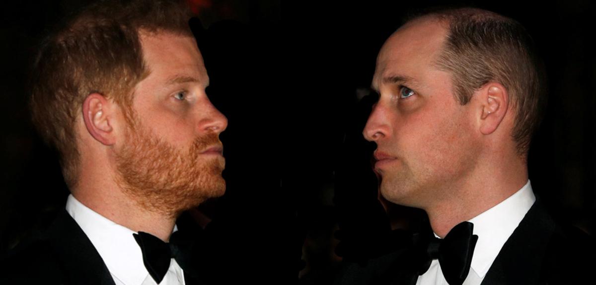 Herencia del príncipe Harry y William