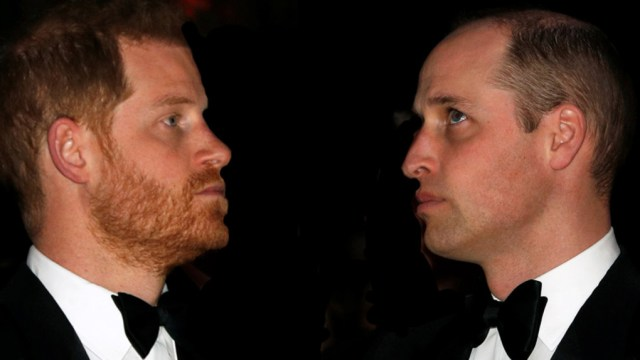 Herencia del príncipe Harry y William