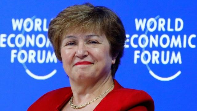 Kristalina Georgieva llega al FMI