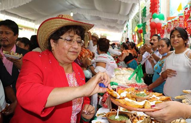 Modo de celebrar en México las fiestas