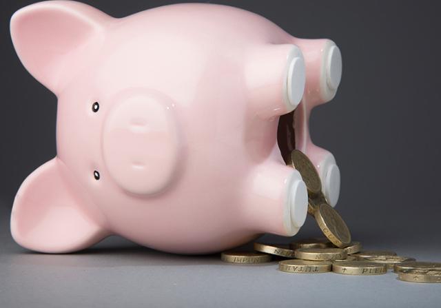 Problemas en el ahorro personal