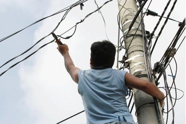 Robo de electricidad en México