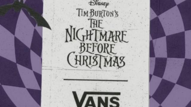 Vans y Tim Burton