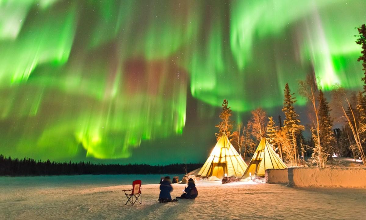 Aurora boreales en Canadá