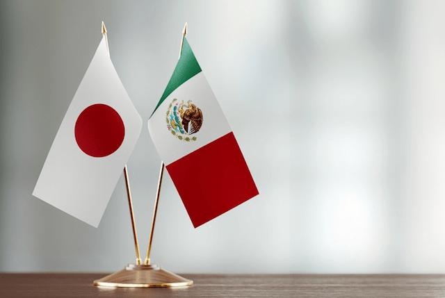 Comercio México Japón