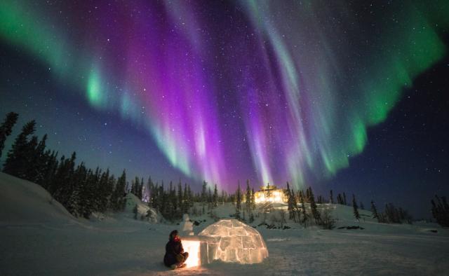 Viaja a las auroras boreales