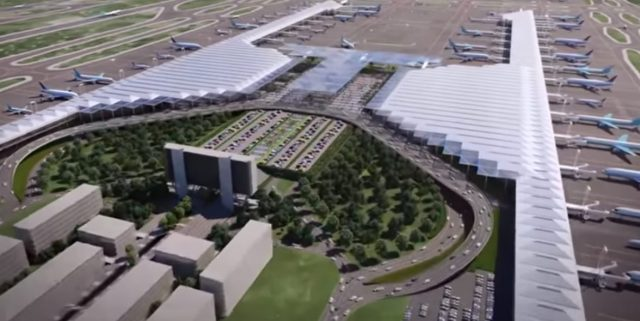 Imagen: Así planean que se vea el aeropuerto de Santa Lucía, 28 de octubre de 2019 (Imagen: Especial)