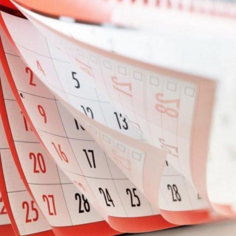Imagen: Días avanzan en un calendario, 31 de octubre de 2019 (Imagen: Especial)