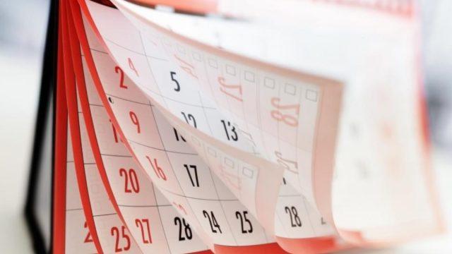Calendario de Pagos de Pensiones del ISSSTE