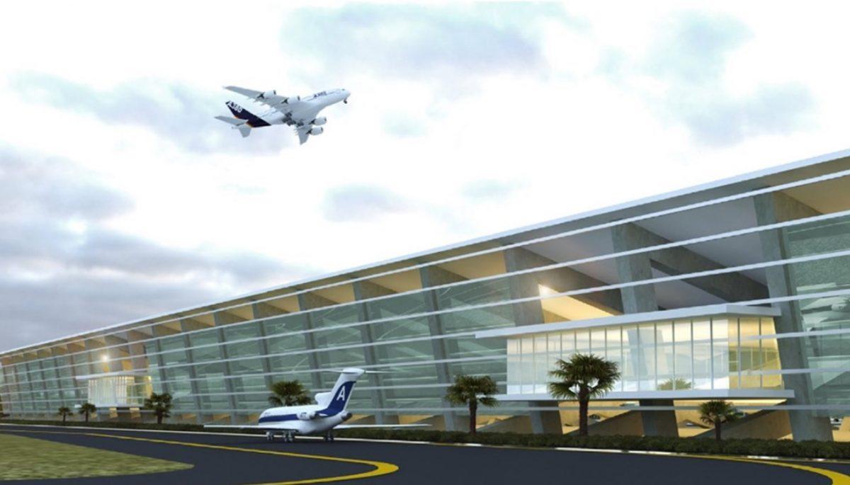 Imagen: Diseño virtual del aeropuerto de Santa Lucía, 17 de octubre de 2019 (Imagen: Especial)