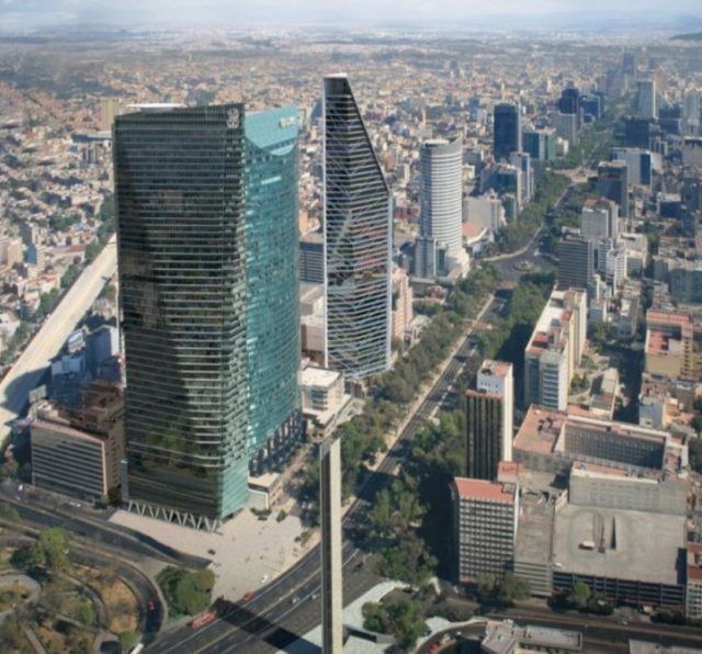 Imagen: Vista área de la Ciudad de México, 25 de noviembre de 2019 (Imagen: Especial)