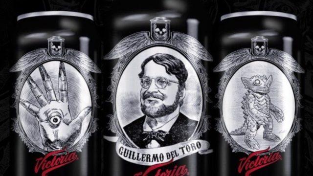 Imagen: Edición especial de latas de cerveza con personajes de Guillermo del Toro, 14 de noviembre de 2019 (Imagen: Especial)