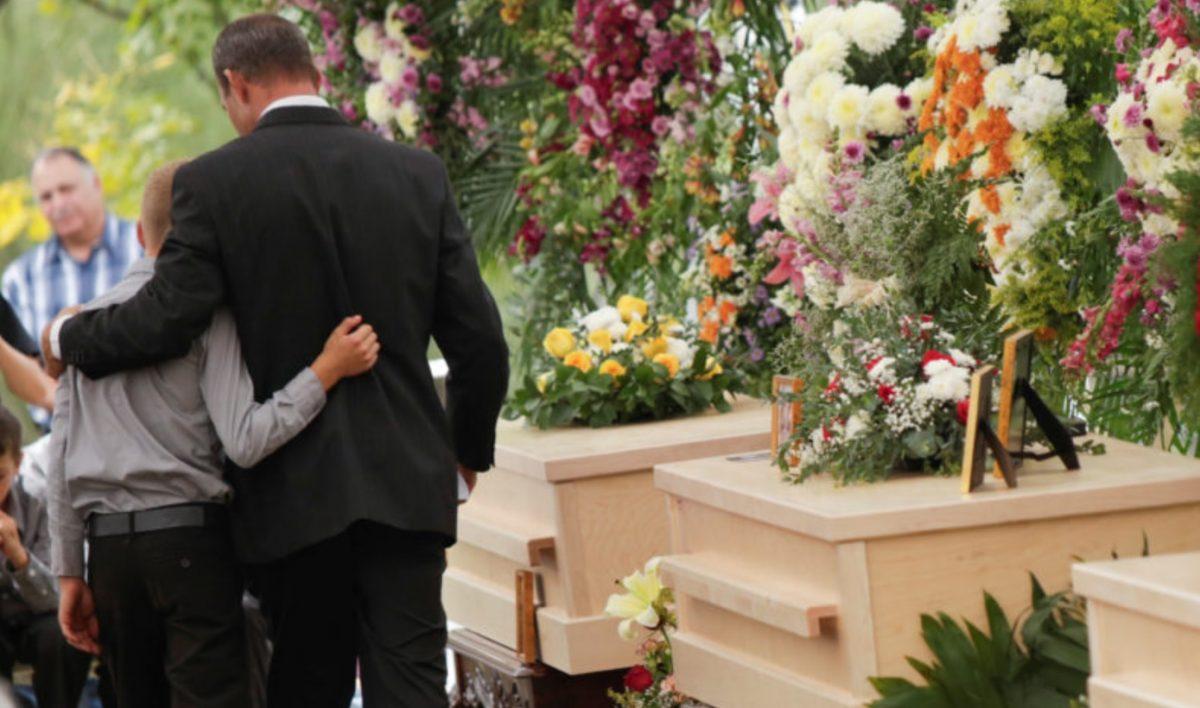 Imagen: Funerales de integrantes de la familia LeBarón, 8 de noviembre de 2019 (Imagen: Especial)