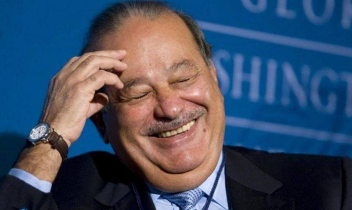 28 de noviembre de 2019, Carlos Slim trabajo tesis, el empresario mexicano, Carlos Slim, Ciudad de México, México (Imagen: Especial)