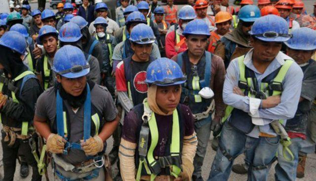 Imagen: Trabajadores en México, 7 de noviembre de 2019 (Imagen: Especial)